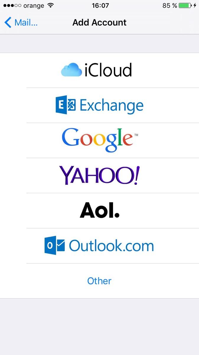 configurare email 2